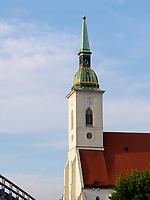 Dom St. Martin in Bratislava, Bratislavsky kraj, Slowakei, Europa<br /> Cathedral St. Martin, Bratislava, Bratislavsky kraj, Slovakia, Europe