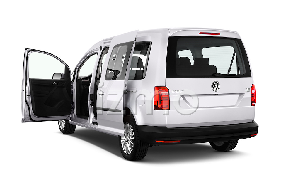 Car images of 2015 Volkswagen Caddy Maxi Dark & Cool 5 Door Mini Mpv Doors