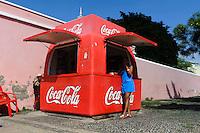 Kiosk in Mindelo, Sao Vicente, Kapverden, Afrika