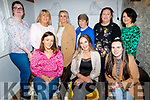Lisa Fealy from Abbeydorney celebrating her 40th birthday in Bella Bia on Friday.<br /> Seated l to r: Erin Cosgrove, Lisa Fealy and Liza Bonner.<br /> Back l to r: Regan Flaherty, Helen Maunsell, Michelle Keane, Helen Cunningham, Elaine Mullins and Mairead O'Mahoney.