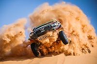 5th January 2021; Dakar Rally stage 3; 303 Al Rajhi Yazeed (sau), Von Zitzewitz Dirk (deu), Toyota, Overdrive Toyota, Auto, action during the 3rd stage of the Dakar 2021 between Wadi Al Dawasir and Wadi Al Dawasir, in Saudi Arabia on January 5, 2021