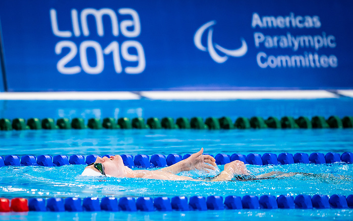 Jacob Brayshaw, Lima 2019 - Para Swimming // Paranatation.<br />