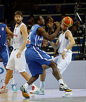 French national basketball team player Pietrus Florent during final Eurobasket 2011 game between Spain and France in Kaunas, Lithuania, Sunday, September 18, 2011. (photo: Pedja Milosavljevic)