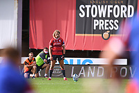 30th August 2020; Kingsholm Stadium, Gloucester, Gloucestershire, England; English Premiership Rugby, Gloucester versus Leicester Tigers; Billy Twelvetrees of Gloucester lines up a conversion