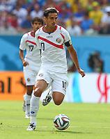Bryan Ruiz of Costa Rica