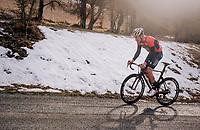 Heinrich Haussler (AUS/Bahrain-Merida)<br /> <br /> 76th Paris-Nice 2018<br /> stage 5: Salon-de-Provence > Sisteron (165km)