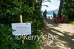 one of the Water Quality signd Kerry County Council have erected on the shore of Lough Leane Killarney