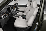 Front seat view of 2022 KIA Telluride SX-AWD 5 Door suv Front Seat  car photos