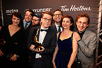 30 ieme gala des Gemeaux <br /> le 30 septembre 2015, a la Place-des-arts<br /> <br /> Photo : Agence Quebec Presse