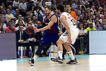 during Liga Endesa match between Real Madrid and FC Barcelona Lassa at Wizink Center in Madrid, Spain. March 24, 2019.  (ALTERPHOTOS/Alconada)