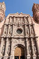 Zacatecas Catedral, Mexico