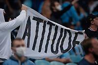 6th October 2021; Arena do Gremio, Porto Alegre, Brazil; Brazilian Serie A, Gremio versus Cuiaba; Gremio fans protest after the match