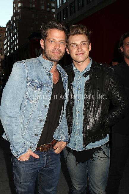 WWW.ACEPIXS.COM....April 17 2013, New York City....Nate Burkus, Jeremiah Brent arriving at the HRC Marriage for Equality USA celebration at the Calvin Klein Boutique on April 17, 2013 in New York City. ........By Line: Nancy Rivera/ACE Pictures......ACE Pictures, Inc...tel: 646 769 0430..Email: info@acepixs.com..www.acepixs.com