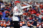 Face-Off Classic: Goalkeeper Andrew West #49 of the Cornell Bears during the Virginia v Cornell mens lacrosse game at M&T Bank Stadium on March 10, 2012 in Baltimore, Maryland. (Ryan Lasek/Eclipse Sportswire)