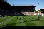 Bradford City 3, Carlisle United 1, 21/09/2019. Valley Parade, EFL League 2. The home team on the attack during the first-half as Bradford City played Carlisle United in a Skybet League 2 fixture at Valley Parade. The home team were looking to bounce back after being relegated during a disastrous 2018-19 season on and off the pitch. Bradford won the match 3-1, watched by a crowd of 14, 217. Photo by Colin McPherson.
