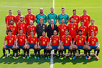 SPAIN NATIONAL FOOTBALL TEAM TRAINING SESSION.