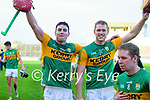 Fionan Mackessy and Michael  O Leary, Kerry after the Joe McDonagh hurling cup fourth round match between Kerry and Carlow at Austin Stack Park on Saturday.