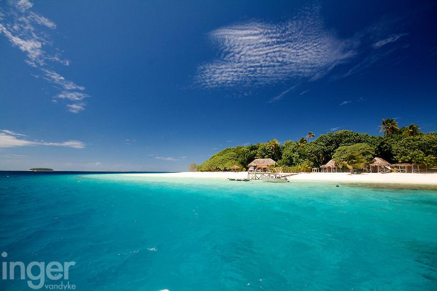 Tropical Island in Tonga