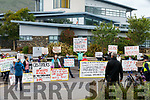 Cahersiveen and residents of the Skellig Star Direct Provision Centre call for the immediate resignation of Justice Minister Charlie Flanagan