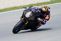 31st  March 2021; Barcelona, Spain; World Superbike testing at Circuit Barcelona-Catalunya;   Garrett Gerloff (USA) riding Yamaha YZF R1 for GRT Yamaha WORLDSBK Team