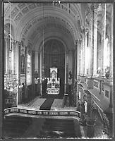 Quartier Vieux-Québec - Séminaire de Québec - Chapelle Date circa 1900<br /> <br /> PHOTO : Studio Livernois