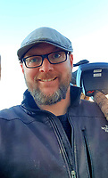 BNPS.co.uk (01202 558833)<br /> Pic: James Spark/BNPS<br /> <br /> Pictured: James Spark<br /> <br /> Two metal detectorists are today celebrating after a 'nationally important' Roman bronze hoard of artefacts they dug up sold for £240,500<br /> <br /> James Spark and Mark Didlick uncovered the bust of emperor Marcus Aurelius last year alongside a statuette of the god of Mars on horseback, a horse-head knife handle and a large bronze pendulum.<br /> <br /> The immaculately preserved items were buried in a field in Ryedale, North Yorks, as an offering to the gods as part of a Roman religious ceremony in about 160AD.