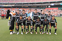 DC United Starting XI. DC United defeated the Columbus Crew 3-2, Saturday, July 15, 2006.