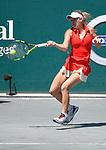 Caroline Wozniacki (DEN) defeated Annika Beck (GER) 7-5, 6-1