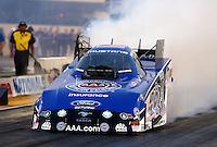 Jul. 26, 2013; Sonoma, CA, USA: NHRA funny car driver Robert Hight during qualifying for the Sonoma Nationals at Sonoma Raceway. Mandatory Credit: Mark J. Rebilas-