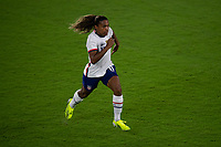 ORLANDO CITY, FL - FEBRUARY 18: Catarina Macario #11 during a game between Canada and USWNT at Exploria stadium on February 18, 2021 in Orlando City, Florida.