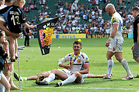 Henry Slade of Exeter Chiefs celebrates after winning the Premiership Rugby Final at Twickenham Stadium on Saturday 27th May 2017 (Photo by Rob Munro)