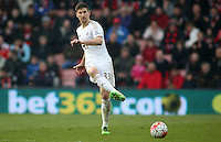 Federico Fernandez of Swansea City during the Barclays Premier League match between AFC Bournemouth and Swansea City played at The Vitality Stadium, Bournemouth on March 12th 2016
