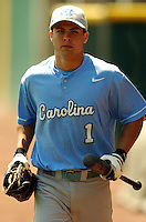 North Carolina Tar Heels' OF Levi Michael in action vs. the Boston College Eagles  at Shea Field May 16, 2009 in Chestnut Hill, MA (Photo by Ken Babbitt/Four Seam Images)
