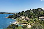 France, Provence-Alpes-Côte d'Azur, Saint-Tropez: beach Plage des Graniers | Frankreich, Provence-Alpes-Côte d'Azur, Saint-Tropez: Plage des Graniers unterhalb der Zitadelle