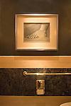 Artwork, Bathroom, Picasso Restaurant, Las Vegas, Nevada