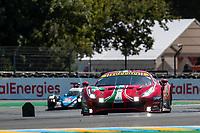 #51 AF Corse Ferrari 488 GTE EVO LMGTE Pro, Alessandro Pier Guidi, James Calado, Come Ledogar, 24 Hours of Le Mans , Test Day, Circuit des 24 Heures, Le Mans, Pays da Loire, France