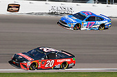 #20: Erik Jones, Joe Gibbs Racing, Toyota Camry Craftsman and #17: Ricky Stenhouse Jr., Roush Fenway Racing, Ford Fusion Fastenal