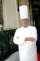 Aug 25, 2003; PARIS, IDF, FRANCE; Paul Bocuse<br /> Rencontre Annuelle du club 'les chefs des chefs' au Plaza Athenee, Paris. .