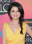 Selena Gomez at Nickelodeon's 23rd Annual Kids' Choice Awards held at Pauley Pavilion in Westwood, California on March 27,2010                                                                                      Copyright 2010 © DVS / RockinExposures