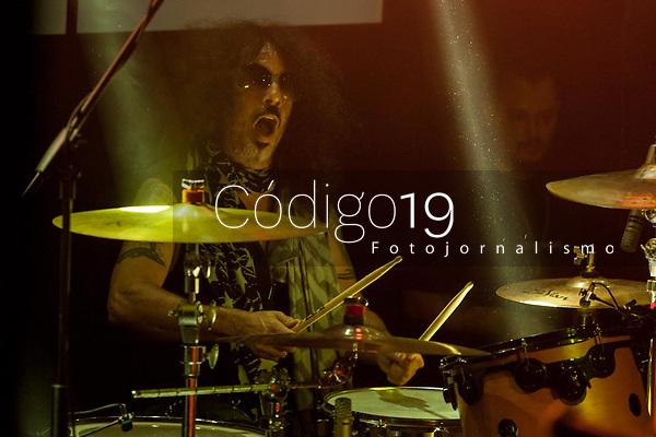 São Paulo (SP), 21/08/2020 - Arquivo Frankie Banali - O baterista Frankie Banali, membro da formação clássica  da banda Quiet Riot, morreu aos 68 anos, na quinta-feira (20) em Los Angeles, onde estava internado. A causa da morte, foi decorrente de um câncer no pâncreas e a notícia foi dada pela sua esposa na tarde desta sexta-feira (21) por meio das redes sociais. Frankie era defensor das causas animais. FOTO DE ARQUIVO: SAO PAULO, SP 26.11.2016: QUIET RIOT-SP - Os californianos do Quiet Riot se apresentaram na noite deste sabado (26) no Carioca Club, zona oeste da capital.