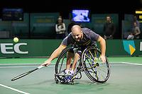 Rotterdam, The Netherlands, February 12, 2016,  ABNAMROWTT, Stefan Olsson (SWE)<br /> Photo: Tennisimages/Henk Koster