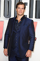 """Henry Cavill<br /> arriving for the """"Mission: Impossible Fallout"""" premiere at the BFI IMAX South Bank, London<br /> <br /> ©Ash Knotek  D3414  13/07/2018"""