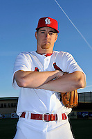Mar 01, 2010; Jupiter, FL, USA; St. Louis Cardinals pitcher Tyler Norrick (71) during  photoday at Roger Dean Stadium. Mandatory Credit: Tomasso De Rosa/ Four Seam Images