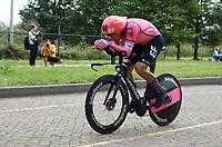 WIELERSPORT: LELYSTAD: 31-08-2021, Benelux Tour, Tijdrit, Winnaar Stefan Bissegger (CHE), ©foto Martin de Jong