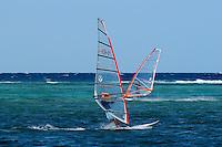 Windsurfing Boracay island, Philippines