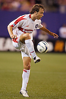 The Chicago Fire's Justin Mapp. The Chicago Fire played the NY/NJ MetroStars to a one all tie at Giant's Stadium, East Rutherford, NJ, on May 15, 2004.