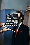 Roma, Cinecittà, 1991 circa, Roberto Benigni sul set del film Johnny Stecchino, Rome,Cinecittà, about 1991, Roberto Benigni on Johnny Stecchino movie set
