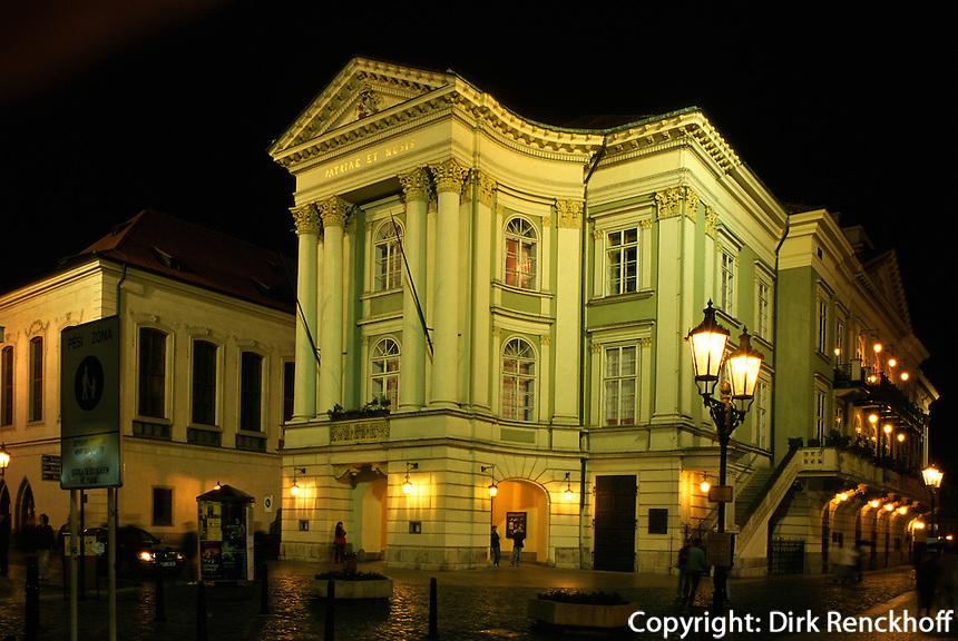 Staendetheater (Stavovske Divadlo), Prag, Tschechien, Unesco-Weltkulturerbe.