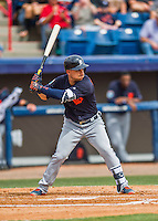 5 March 2016: Detroit Tigers infielder Jose Iglesias in action during a Spring Training pre-season game against the Washington Nationals at Space Coast Stadium in Viera, Florida. The Tigers fell to the Nationals 8-4 in Grapefruit League play. Mandatory Credit: Ed Wolfstein Photo *** RAW (NEF) Image File Available ***