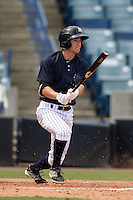 New York Yankees second baseman Tyler Wade (63) during an Instructional League game against the Toronto Blue Jays on September 24, 2014 at George M. Steinbrenner Field in Tampa, Florida.  (Mike Janes/Four Seam Images)